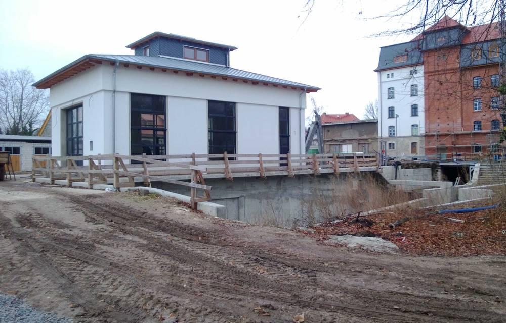 Wasserkraftanlage, Mühleninsel Merseburg