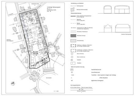 B-Plan, Gartenstadt Leuna